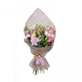 Hand bouquet with imported...